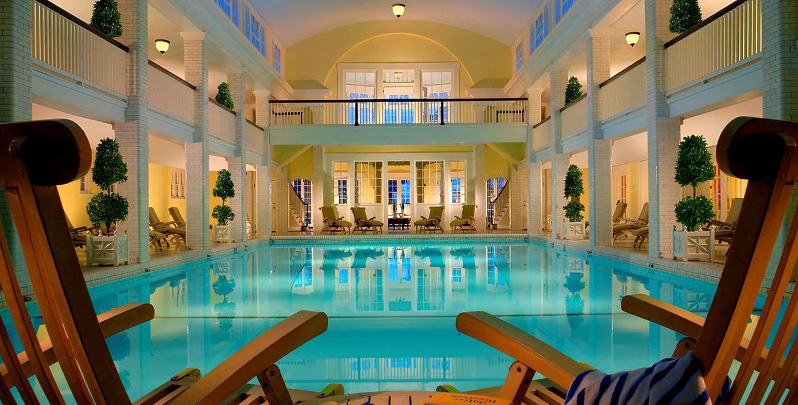 Image of Indoor Pool, Omni Bedford Springs Resort & Spa, Bedford, Pennsylvania, 1806, Member of Historic Hotels of America, Hot Deals