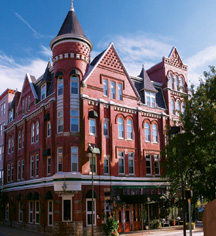 The Blennerhassett Hotel  in Parkersburg