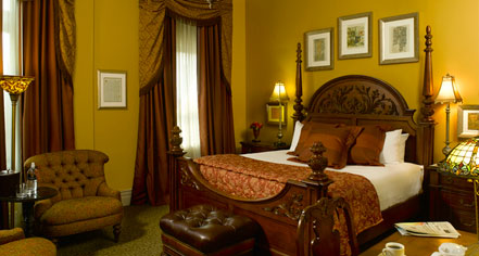 Accommodations:      The Blennerhassett Hotel  in Parkersburg