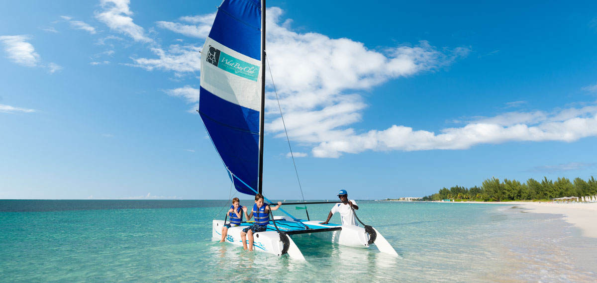 Activities:      West Bay Club  in Providenciales