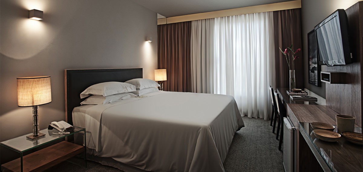 Accommodations:      Ouro Minas Palace Hotel  in Belo Horizonte