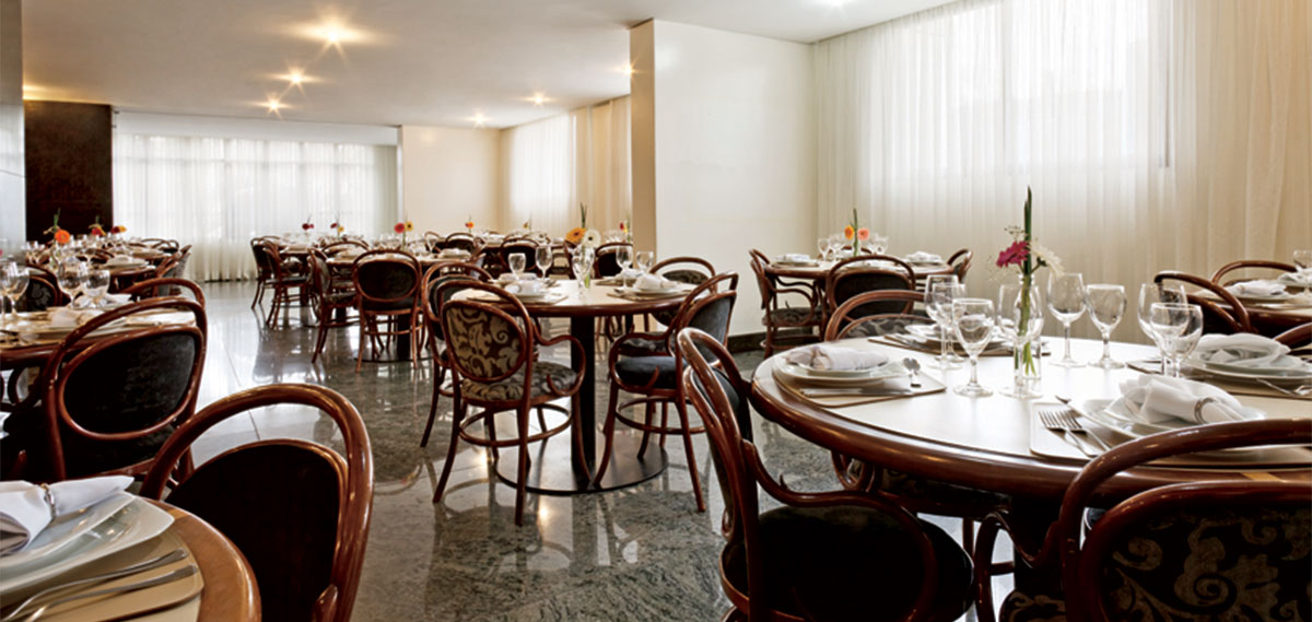 Dining:      Ouro Minas Palace Hotel  in Belo Horizonte