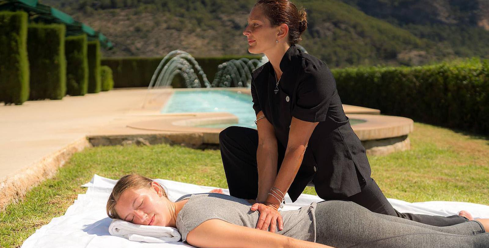 Image of Outdoor Massage, Gran Hotel Son Net, Puigpunyent, Spain, 1672, Member of Historic Hotels Worldwide, Hot Deals