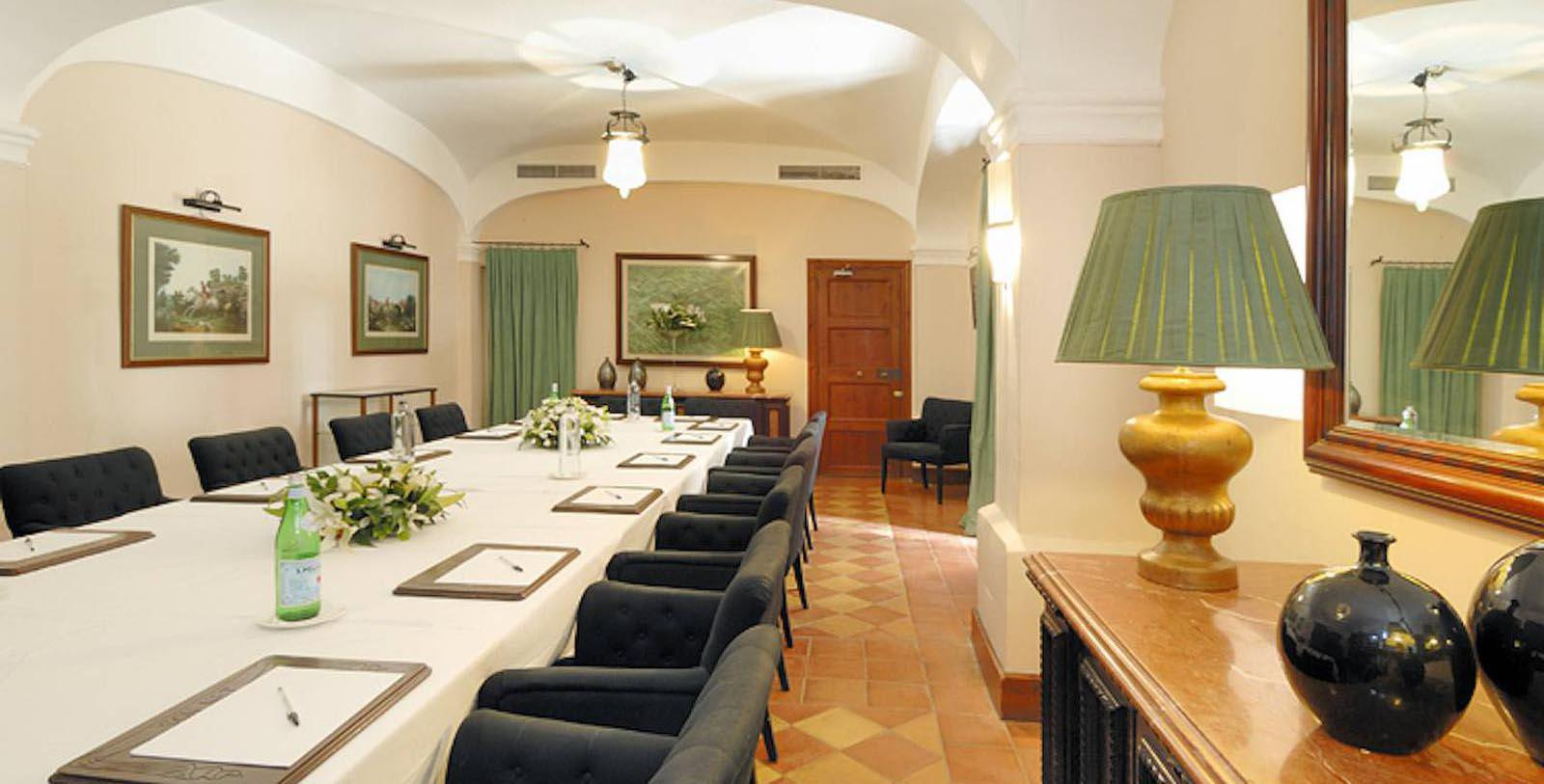 Image of Boardroom, Gran Hotel Son Net, Puigpunyent, Spain, 1672, Member of Historic Hotels Worldwide, Special Occasions