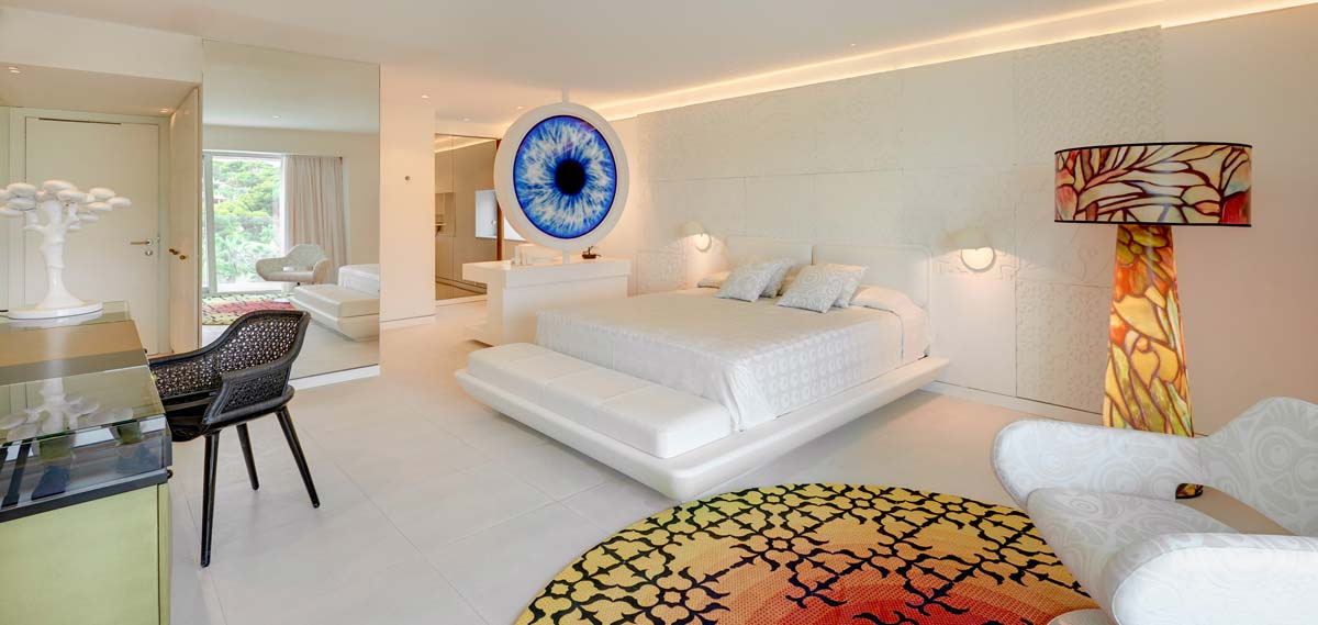 Accommodations:      Iberostar Grand Hotel Portals Nous  in Palma de Mallorca