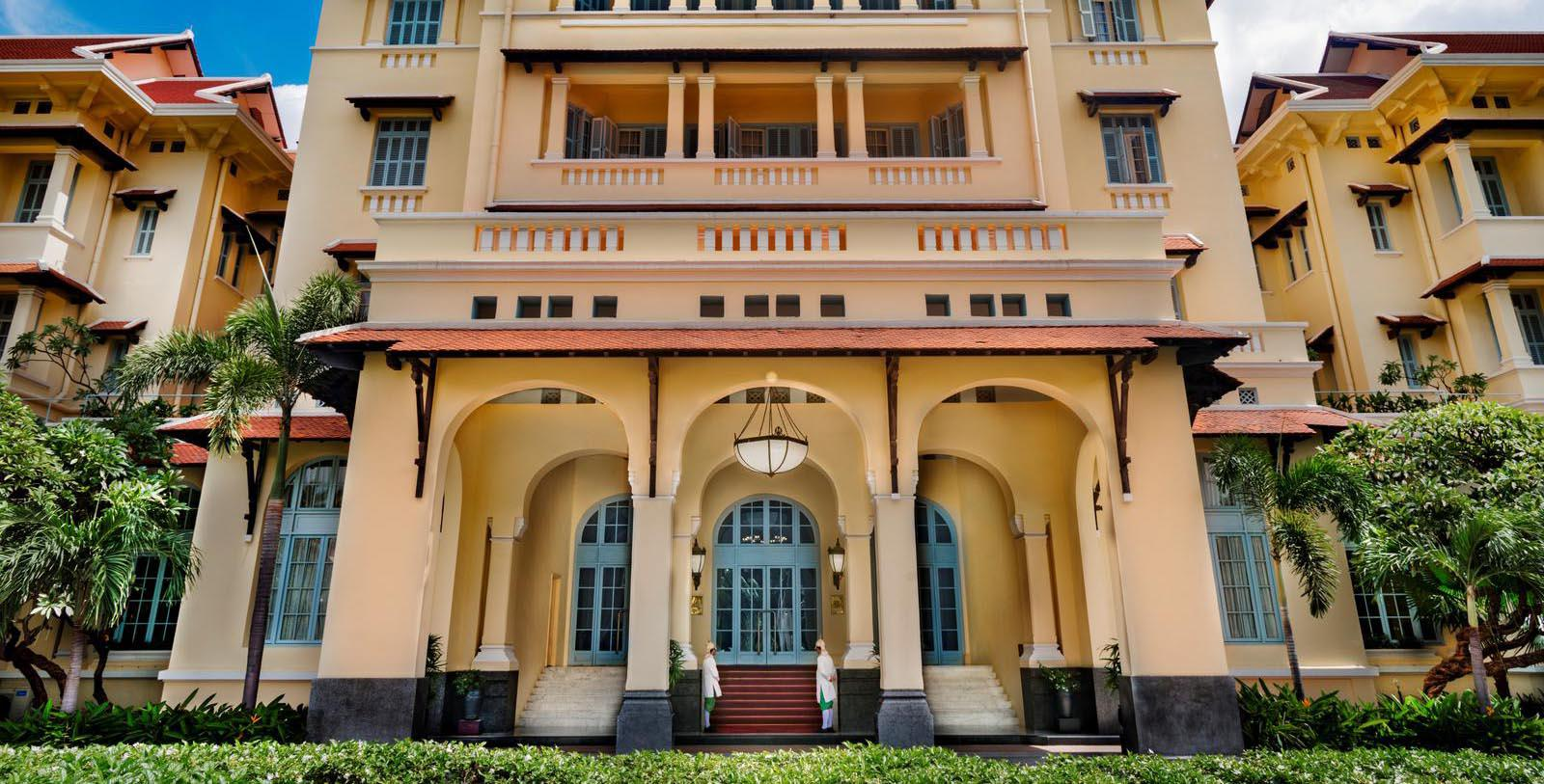 Image of Hotel Exterior Raffles Hotel Le Royal, 1929, Member of Historic Hotels Worldwide, in Phnom Penh, Cambodia, Discover