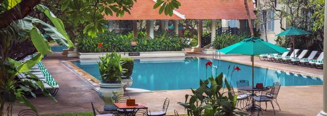 Spa:      Raffles Hotel Le Royal  in Phnom Penh