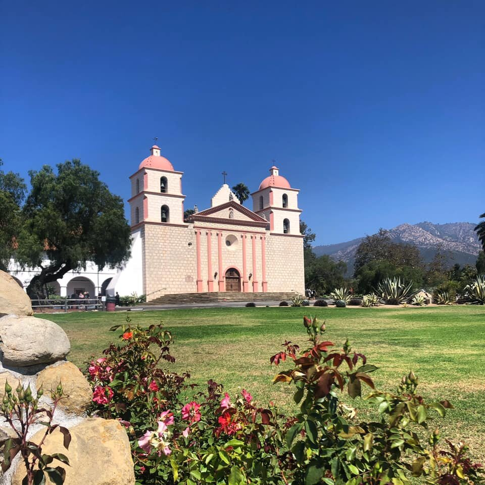 Image Of Old Mission Santa Barbara, Historic Hotels Of America