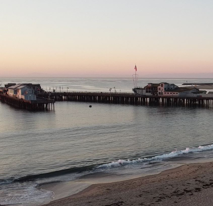 Image Of Stearns Wharf, Historic Hotels Of America