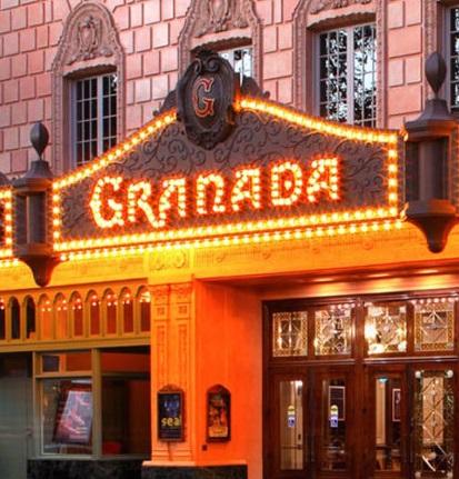 Image Of The Granada Theatre, Historic Hotels Of America
