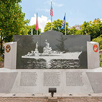 The USS Indianapolis National Memorial