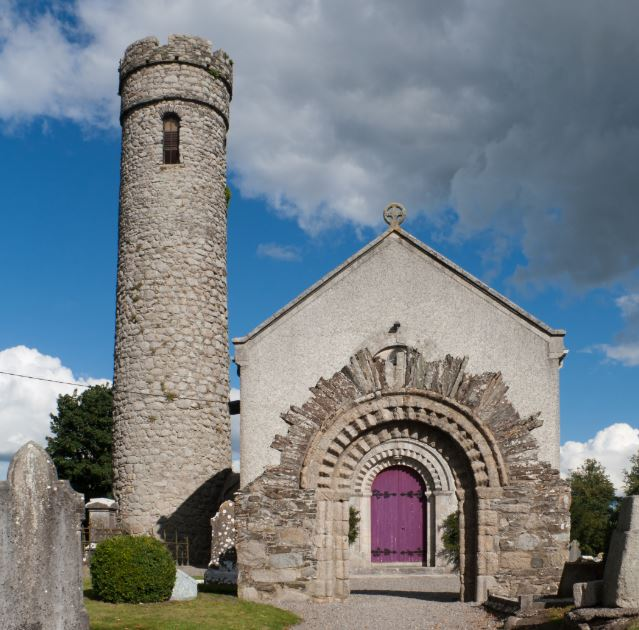 Castledermot Round Tower And St. James' Church