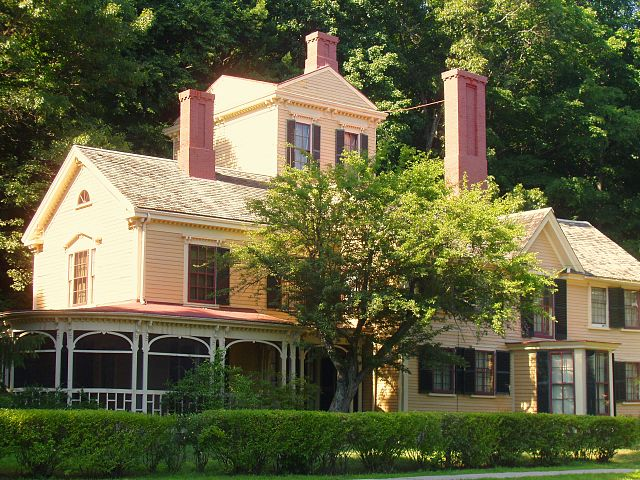 The Wayside Home Of Authors