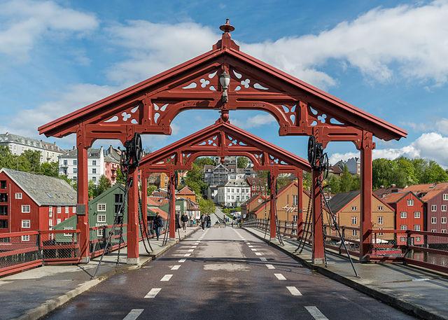 Gamle Bybro (Old Town Bridge Trondheim)