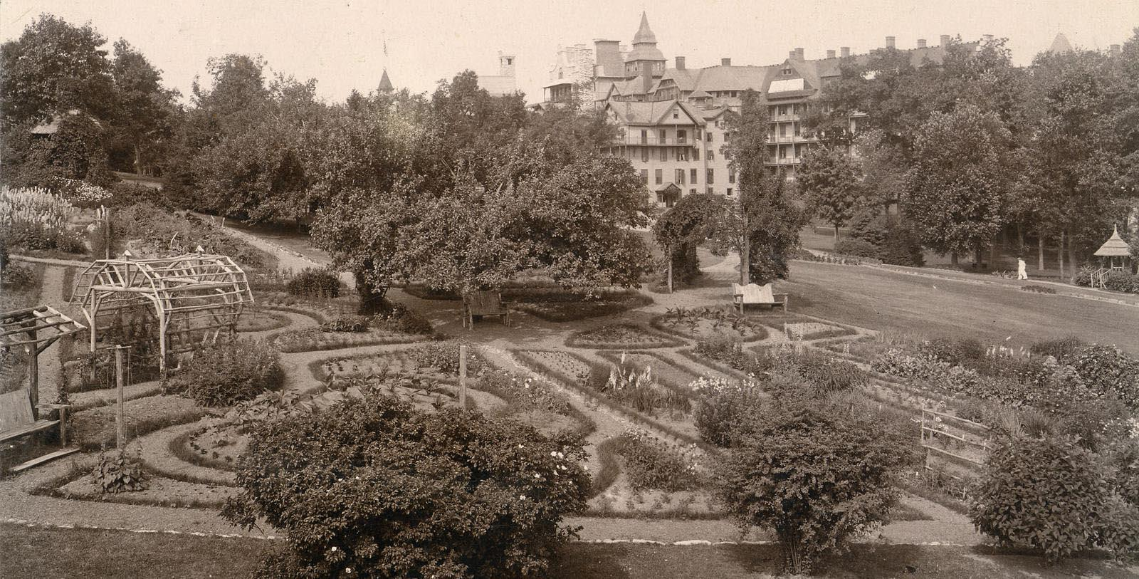 Image of Historic Gardens, Mohonk Mountain House, New Paltz, New York, 1869, Member of Historic Hotels of America, Discover