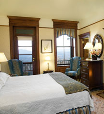 Accommodations:      Mohonk Mountain House  in New Paltz