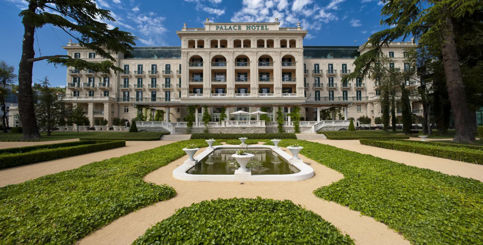 Image of Garden Kempinski Palace Portorož, 1908, Member of Historic Hotels Worldwide, in Portoroz, Slovenia, Special Offers, Discounted Rates, Families, Romantic Escape, Honeymoons, Anniversaries, Reunions
