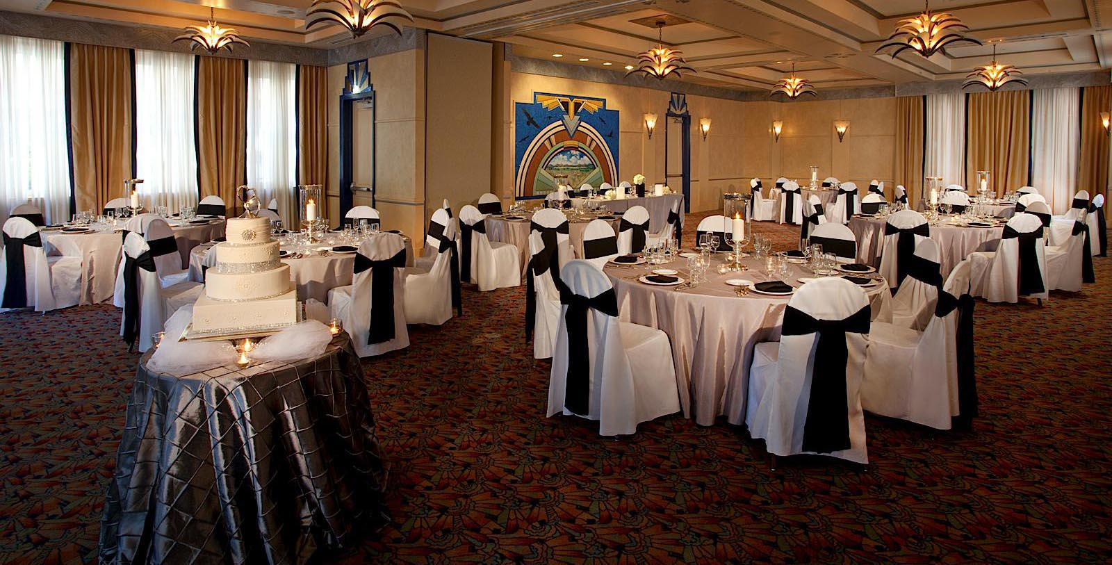 Image of meeting and event space set up for banquet Hassayampa Inn, 1927, Member of Historic Hotels of America, in Prescott, Arizona, Experience