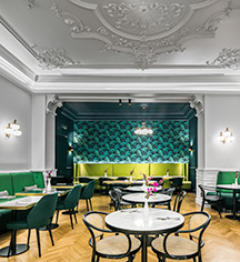 Dining at      Century Old Town Prague - MGallery by Sofitel  in Prague
