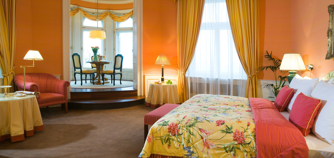 Accommodations:      Le Palais Art Hotel Prague  in Prague