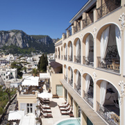 Book a stay with Capri Tiberio Palace in Capri