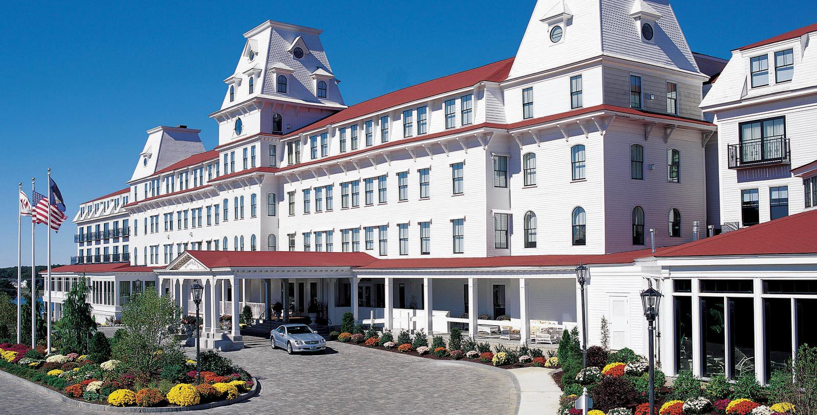 Image of Hotel Exterior, Wentworth by the Sea, New Castle, New Hampshire, 1874, Member of Historic Hotels of America, Special Offers, Discounted Rates, Families, Romantic Escape, Honeymoons, Anniversaries, Reunions