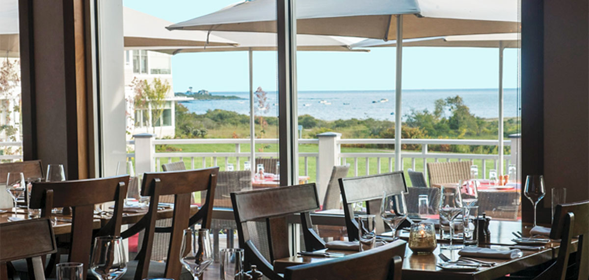 Dining:      Inn by the Sea  in Cape Elizabeth