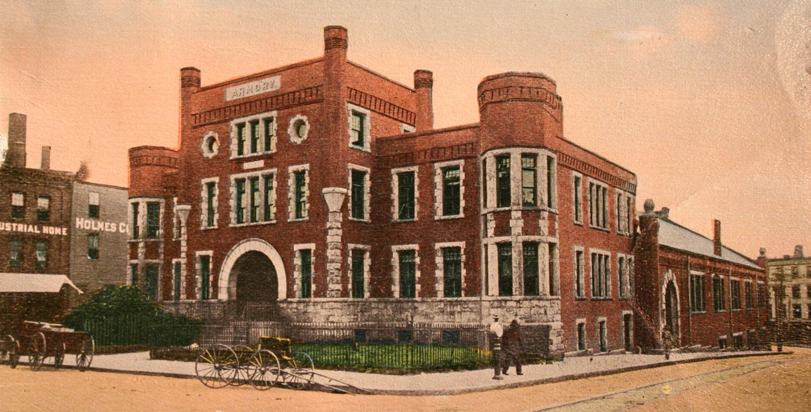 Image of Historic Exterior Postcard Portland Regency Hotel & Spa, 1895, Member of Historic Hotels of America, in Portland, Maine, History