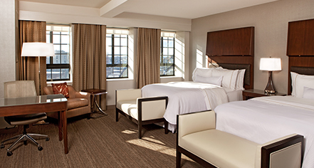 Accommodations:      The Westin Portland Harborview  in Portland