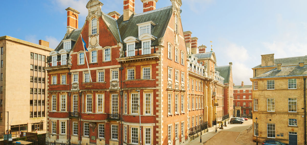 Exterior shot of The Grand Hotel & Spa in York, United Kingdom