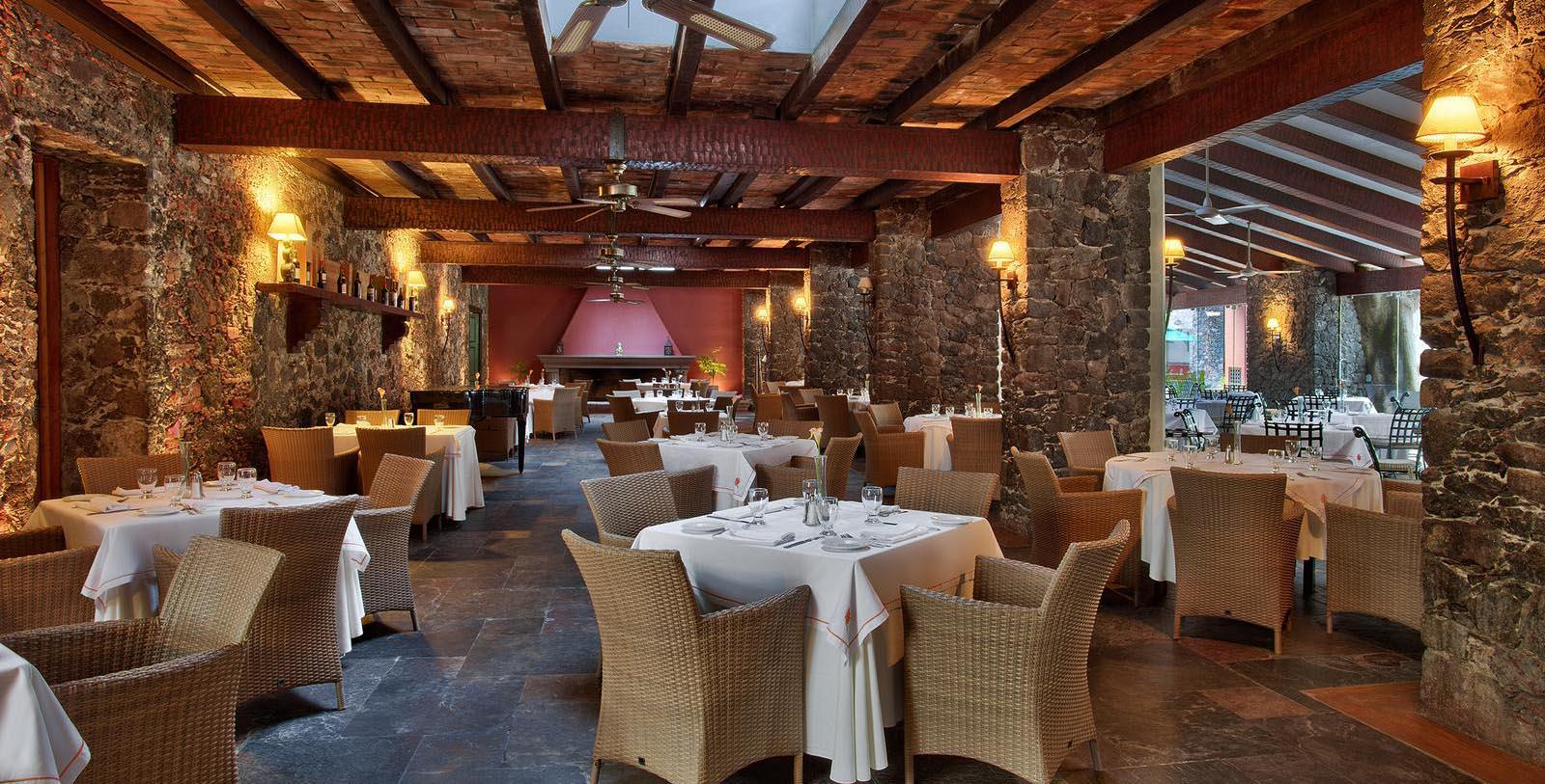 Image of Los Hules Restaurant, Hacienda Jurica by Brisas, Queretaro, Mexico, 1551, Member of Historic Hotels Worldwide, Taste