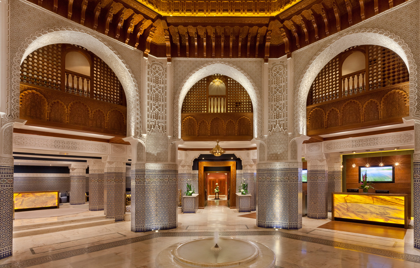 Special Offers:      Palmeraie Golf Palace & Resort  in Marrakech
