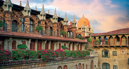 Spa:      The Mission Inn Hotel & Spa  in Riverside
