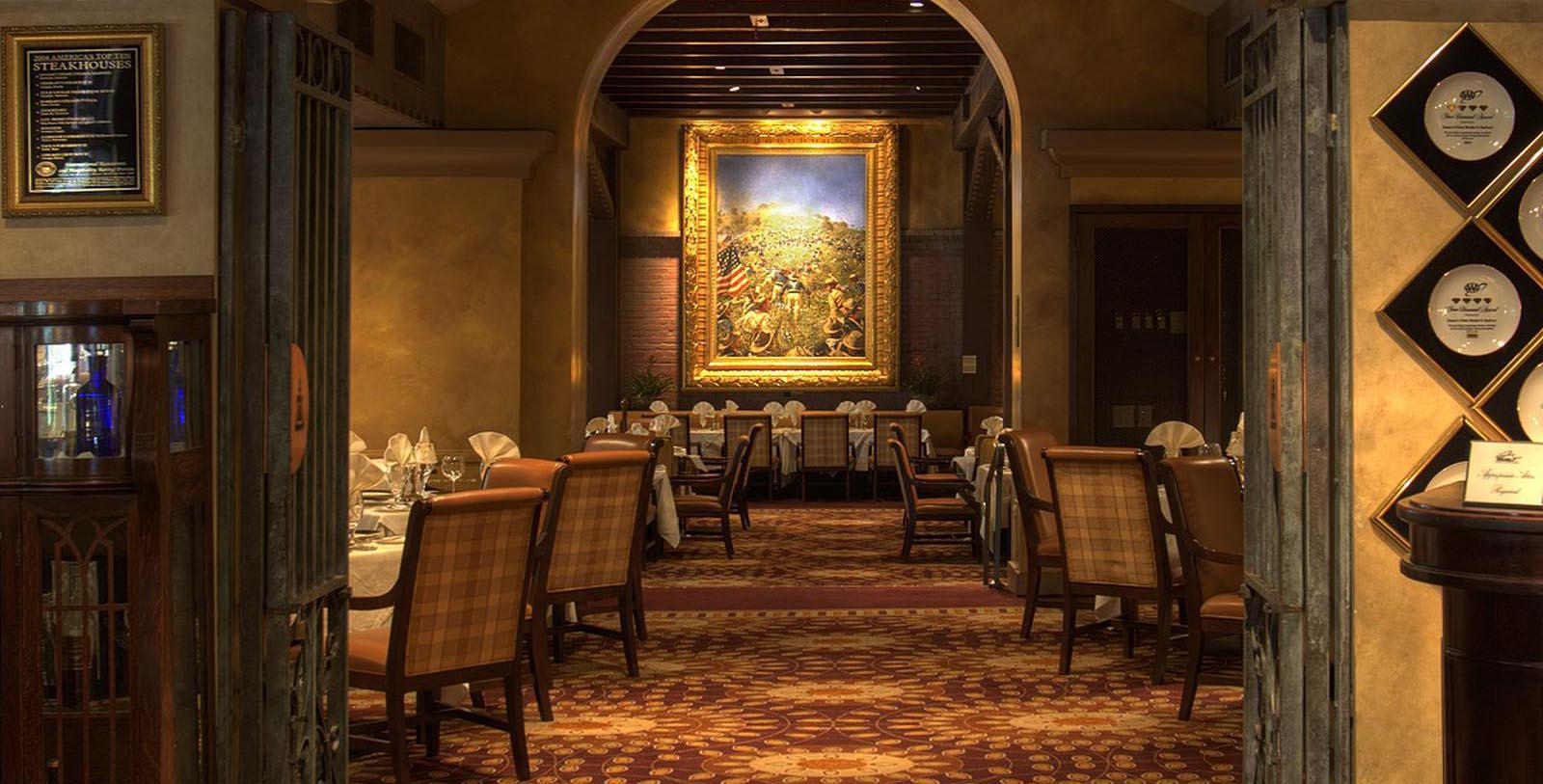 Image of Dining Room at Duane's Prime Steaks and Seafood at The Mission Inn Hotel & Spa, 1876, Member of Historic Hotels of America, in Riverside, California, Taste