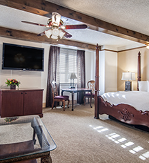 Accommodations:      Hotel Alex Johnson  in Rapid City