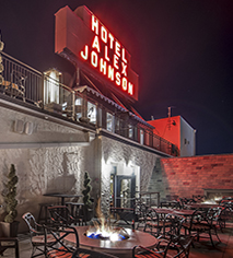 Dining at      Hotel Alex Johnson  in Rapid City