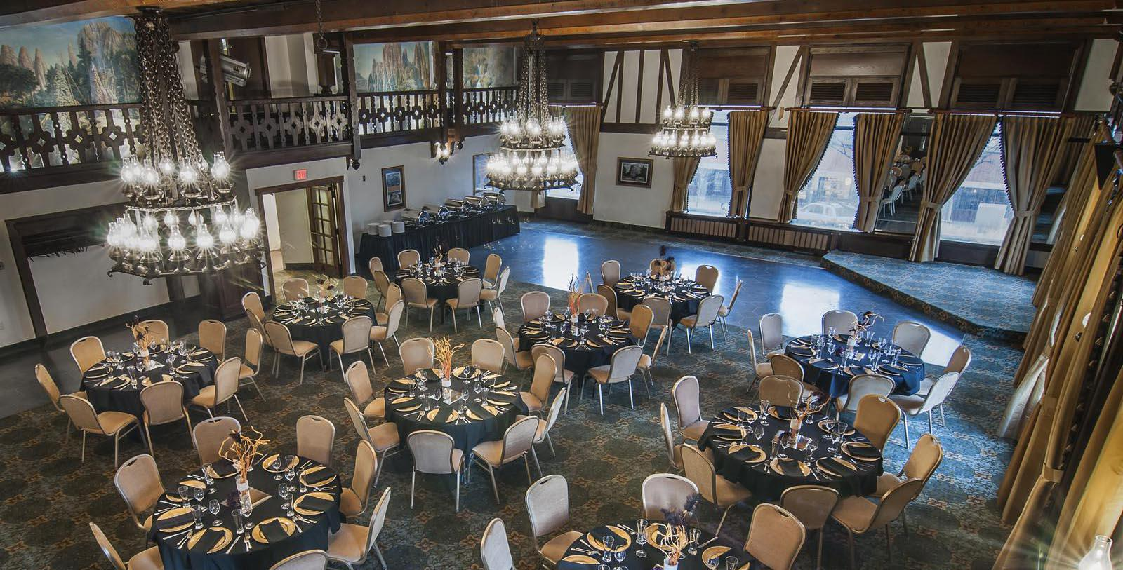 Image of Yesterday's Ballroom, Hotel Alex Johnson in Rapid City, South Dakota, 1928, Member of Historic Hotels of America, Experience