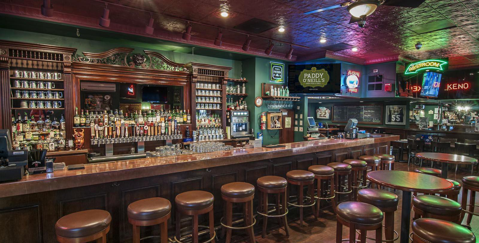 Image of Paddy O'Neill's Irish Pub, Hotel Alex Johnson in Rapid City, South Dakota, 1928, Member of Historic Hotels of America, Taste