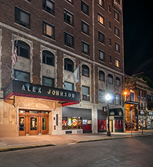 Local Attractions:      Hotel Alex Johnson  in Rapid City