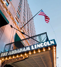 Accommodations:      Abraham Lincoln Reading Hotel  in Reading