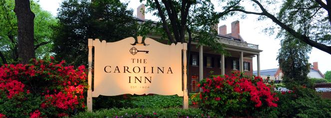 The Carolina Inn in Chapel Hill