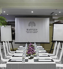 Meetings at      Raffles Grand Hotel D'Angkor  in Siem Reap