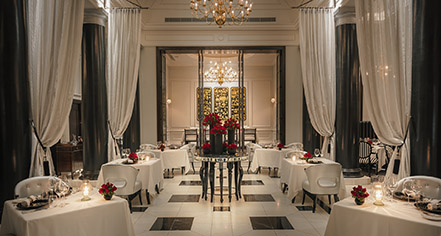 Dining at      The Strand Hotel  in Yangon