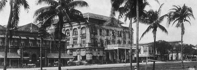 History:      The Strand Hotel  in Yangon
