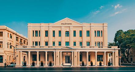 The Strand Hotel  in Yangon