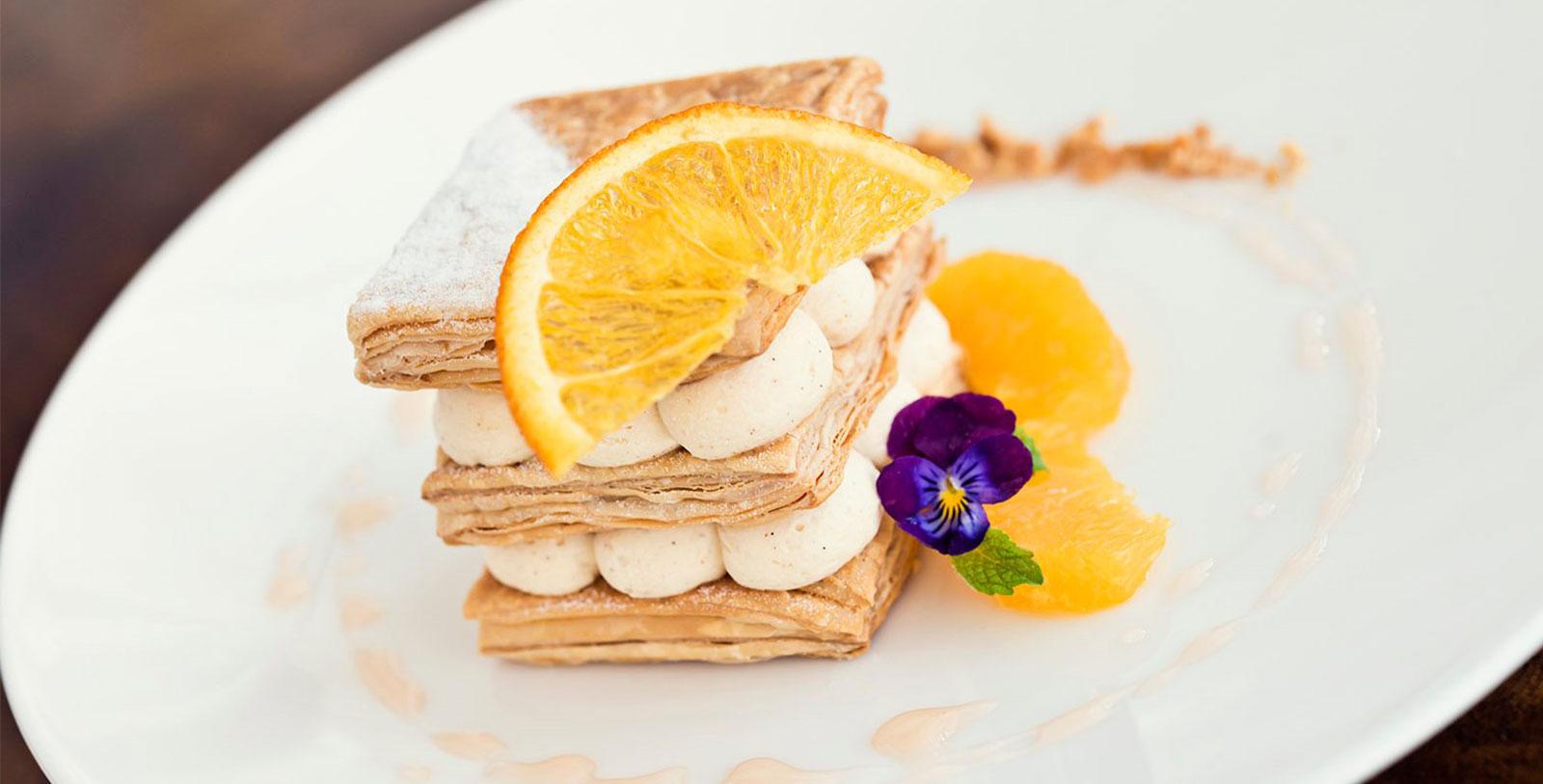 Image of Hazelnut pastry The Jefferson Hotel, 1895, Member of Historic Hotels of America, in Richmond, Virginia, Taste