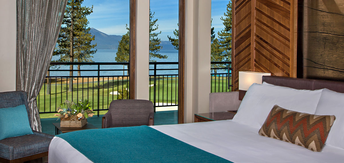 Accommodations:      Edgewood Tahoe Resort  in Stateline