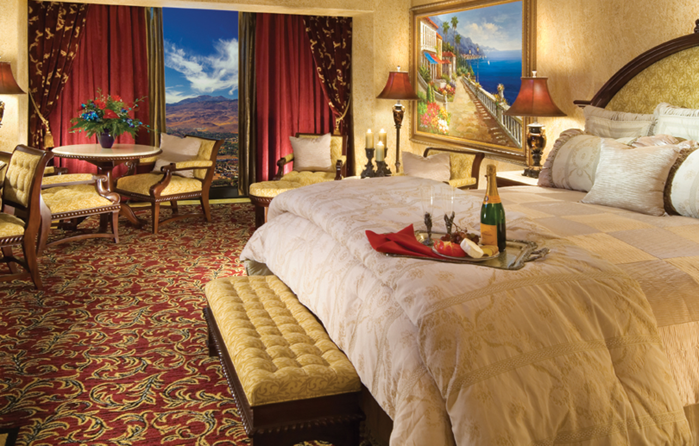 Accommodations:      Peppermill Resort Spa Casino  in Reno