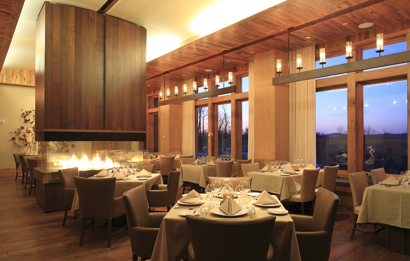 Dining:      The Lodge and Cottages at Primland  in Meadows of Dan