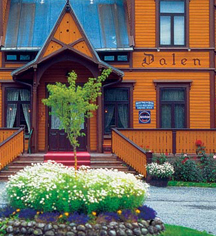 Local Attractions:      Dalen Hotel  in Dalen